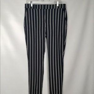 H&M striped women pants.